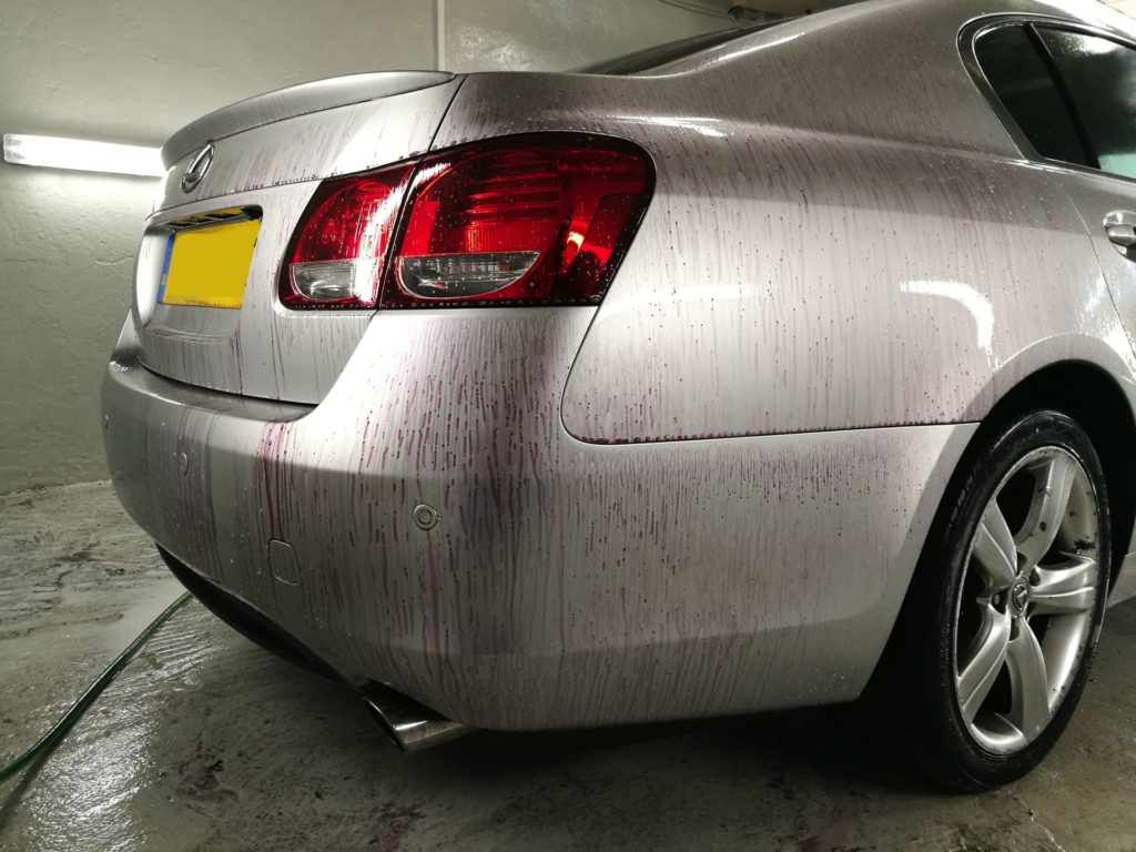 Mycie detailingowe Lexus GS4300