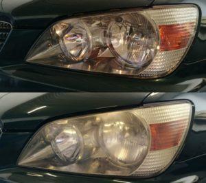 Renowacja lamp Lexus IS 200