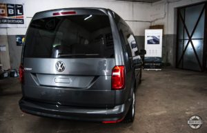 Powłoka ceramiczna VW Caddy - tył