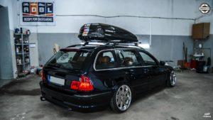 Pakiet odświeżający BMW E46 - tył
