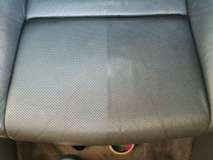 Czyszczenie skóry Acura TL - fotel