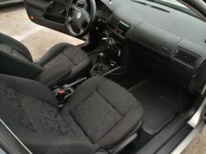 Czyszczenie tapicerki VW Golf
