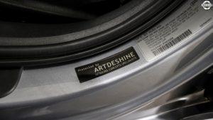 Powłoka ceramiczna Audi A4 ArtDeShine Virtuous Pro - naklejka