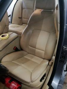 Czyszczenie skóry - BMW 5