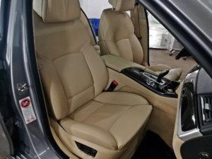 Czyszczenie skóry - BMW F10