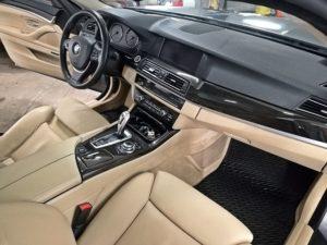 Czyszczenie skóry - BMW serii 5 F10