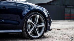 Powłoka ochronna Audi RS7 - felga