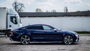 Powłoka ochronna Ultra Coat Audi RS7 - bok