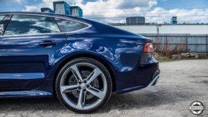 Powłoka ceramiczna Audi RS7 - felga